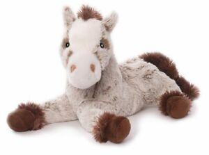 Pferd Harry Kuscheltier Plüschtier Stofftier beige-braun liegend 30 cm Weich