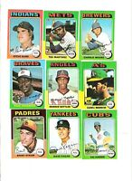 DAVE PAGAN 1975 TOPPS 'MINI' BASEBALL CARD!!