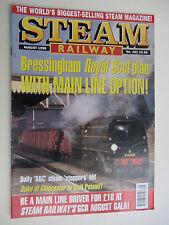 STEAM RAILWAY Magazine. Vol. 221. August 1998. Steam Railways Collectable.