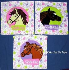 ~ Saddle Club - 3 PACK FACE WASHER SET (3 Horses)
