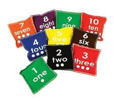 Number 1-10 Toss Bean Bags Set of 10 Maths Teaching Learning Kids Resource Kids