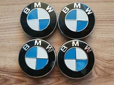 4x Original BMW Nabenabdeckung Radnabe Kappe Nabendeckel 55mm 6850834 Neuwertig