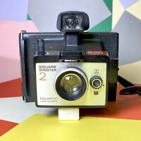 VINTAGE POLAROID INSTANT LAND CAMERA Square Shooter 2 Good Used Condition