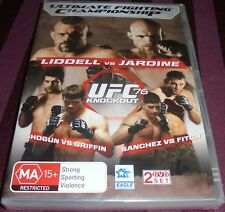 UFC 76 KNOCKOUT LIDDELL VS JARDINE SHOGUN VS GRIFFIN DVD REGION 4 NEW 2 DVD SET