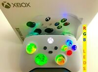 Limited Edition White Xbox One Series X S Controller w LED MOD iPhone Android PC