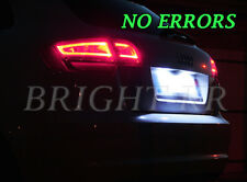 AUDI A3 A4 A6 TT Xenon Bianche Targa Senza Errori LED Light Bulbs