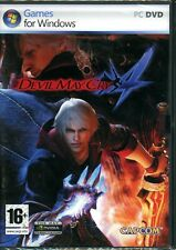 Devil May Cry 4 - Brand New in sealed DVD-Box - PC beat'm-up-action