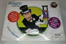 Discovery Kids MAGIC SHOW Spooky Secrets Over 100 Easy Tricks Use Box as Stage
