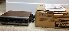 Vintage Stereo Adapter for Color Television and Second Language Bilingual