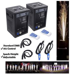 Cold Spark Firework Machine Stage Effect DMX Machine dj event party & powder