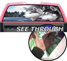 P228 Wolf Rear Window Tint Graphic Decal F150 Ram silverado 1500