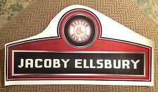 "Red Sox Jacoby Ellsbury Nameplate FATHEAD 26"" x 13"" Vinyl MLB Wall Graphics"