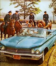 RARE STILL NYPD BUICK ADD WITH MOUNTED COPS
