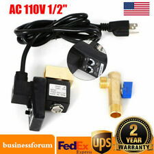 Automatic Electronic Timed Air Tank Water Moisture Drain Valve Compressor Us New