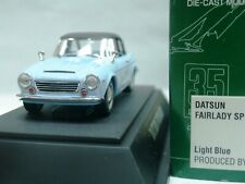 WOW EXTREMELY RARE Datsun Fairlady SP1600 RHD S.Top 1965 S.Blue 1:43 Ebbro-DISM