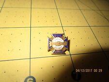Germania G. U. G. Ladies Society Lapel Pin gold filled gf