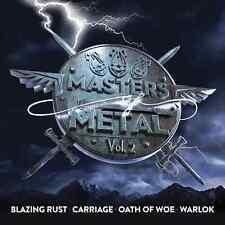 MASTERS OF METAL Vol. 2 (NEW*US METAL*BLAZING RUST*CARRIAGE*OATH OF WOE*WARLOK)