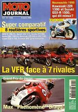 MOTO JOURNAL 1322 HONDA CX 650 TURBO VFR 800 BMW K1200 RS DUCATI ST2 TRIUMPH 900