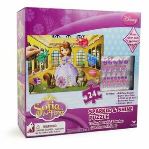 Disney Sofia the First Sparkle and Shine Puzzle 24 pieces