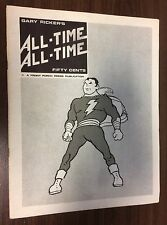 ALL TIME ALL TIME #1 -- Gary Ricker Fanzine -- Front Porch Press -- Shazam
