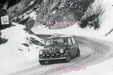 Rauno Aaltonen Mini Cooper LBL 6D Monte Carlo Rally 1967 Photograph 3