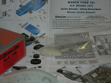 Tameo Kits 1:43 KIT SLK 100 March 701 F.1 Ford Winner Spanish GP 1970 J Stewart