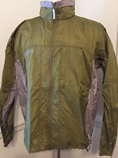 Columbia Men's Hood 1X XL Nylon jacket full zip RM2124 Green Lightweight -Spot