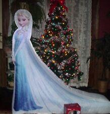 CHRISTMAS GEMMY DISNEY MOVIE FROZEN AIRBLOWN INFLATABLE ELSA FIGURE YARD LIGHT 5