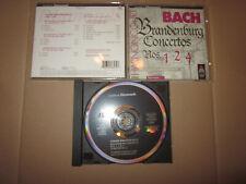 CD Bach / Nikolaus Harnoncourt - Brandenburg Concertos 1, 2 & 4 - Teldec