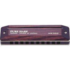 40-70% OFF SALE Suzuki Pure Harp MR-550 Sealed Rosewood Comb & Covers Pick a Key