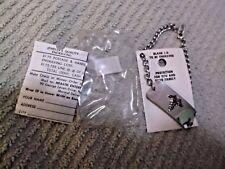 Medical ID Bracelet, Blank To Be Engraved  NOS