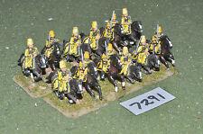 25 mm Guerra de los siete años Prusiano Caballería HUSSARS 12 (7291) De Metal Pintada