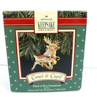 Hallmark Keepsake Ornament Comet & Cupid Christmas Third Ornament Collection