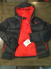 Spyder Nexus ThermaWEB Xt Puffer 71H66022-96 man Black jacket sz Med Brand New