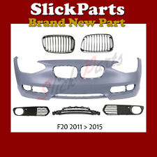 BMW 1 SERIES BUMPER PRIMED F20 / F21 WITH 5 GRILLES 2011 2012 2013 2014 2015