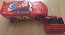 Disney Pixar Remote Controlled Lightening Mcqueen Car from Movie CARS 1 2006 EUC