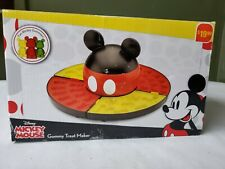 Disney Mickey Mouse Gummy Treat Maker 4 Trays / Gummy Molds Included New