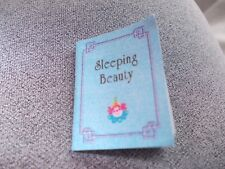 SLEEPING BEAUTY BOOK FOR A DOLLS HOUSE