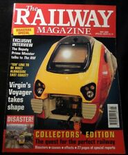 The Railway Magazine 2000 May TGV Virgins Voyager Disasters Causes Effects