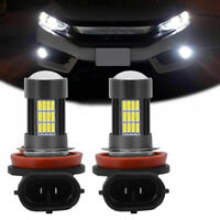 2 x 6000K White H8 LED Bulbs High Power 4014 62W LED Car Fog/Driving DRL Light