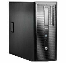 HP EliteDesk 800 G1 Tower Desktop Intel i7 3.4GHz 8GB 256GB SSD Windows 10 Pro