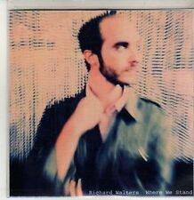 (CU153) Richard Walters, Where We Stand - 2010 DJ CD