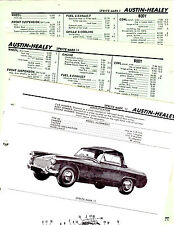AUSTIN HEALEY SPRITE MARK II MOTORS ORIGINAL CAR CRASH BOOK ILLUSTRATIONS M