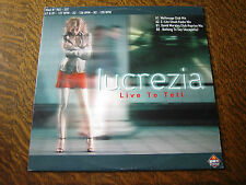 33 tours lucrezia live to tell nothing to say