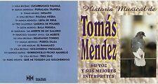TOMAS MENDEZ raro CD Historia Musical LOLA BELTRAN  LUCIA MORENO LUIS AGUILAR