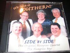 Original Bluegrass Boys Quartet We Like It Southern Gospel CD New Go To The Rock