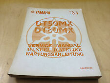 Workshop Manual DT 50 MX, DT 80 MX (5J1) (1981)