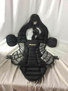 "Black MacGregor 18.5"" Catcher's Chest Protector"