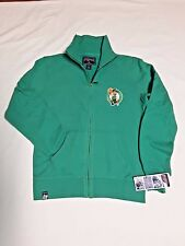 BOSTON CELTICS  WOMENS JACKET FULL ZIP FRONT GREEN