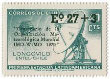 Chile 1974 #834 Centenario Organizacion Meteorologica Mundial MNH